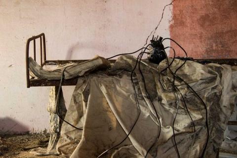 fotografia e istallazione di Romina Mosticone/Maurizio Perissinotto