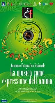 Concorso Fotografico Nazionale 2012 LA MUSICA COME ESPRESSIONE DELL'ANIMA