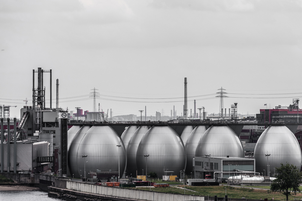 Amburgo, porto e zona industriale