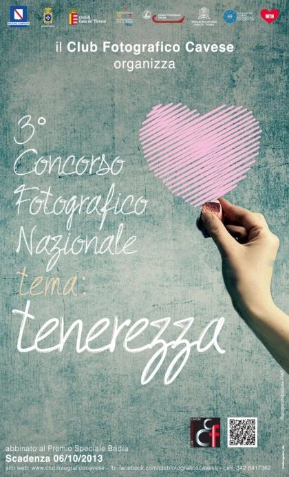 """Concorso Fotografico Nazionale """"Tenerezza"""" raccomandazione FIAF"""