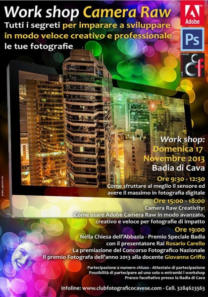 Workshop di fotografia con  Giovanna Griffo