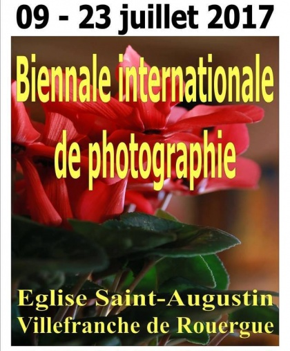 Biennale Internationale de Photographie in Villefranche de Rouergue, Francia.