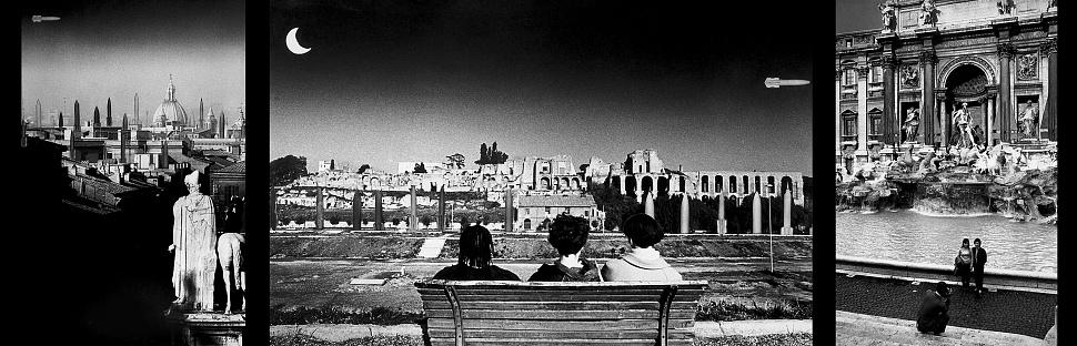 trittico di fotomontaggi analogici, Correva l'anno 1983,,, (1983 - 2019)